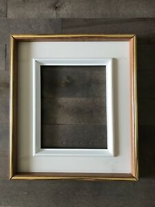 Wood and gold frame