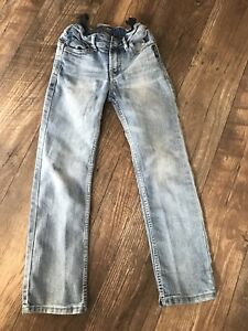 Size 6 girls silver jeans