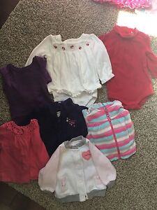 6-12 month size long sleeve shirts and sweaters