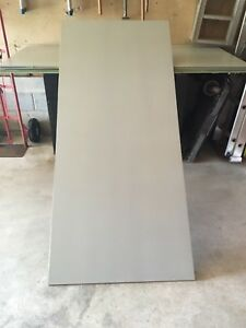 """3 New Aluminum 1/4"""" Sheets,6' Long,Different Projects"""