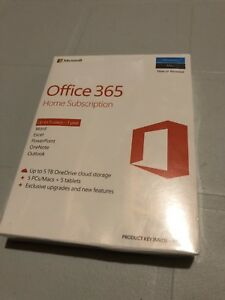 Office 365 Home Subscription (5 users)