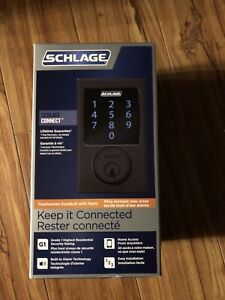 Brand new in box schilage smart lock looking for 120$$