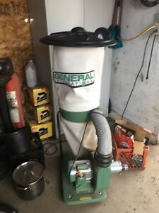 General 1hp dust collector