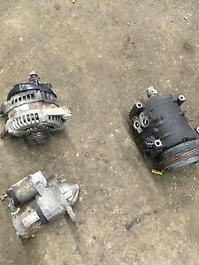 Chrysler pt cruiser alternator starter ac compressor