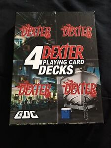 DEXTER Playing Cards (collectors item)