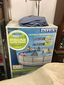 Intex 16' ultra framesalt water optional pool ForSale