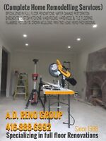 HOME RENOVATIONS AND REMODELLING