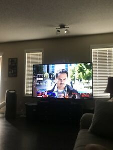 "75"" Samsung 4K smart tv"