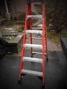 Werner 6ft Fiberglass ladder