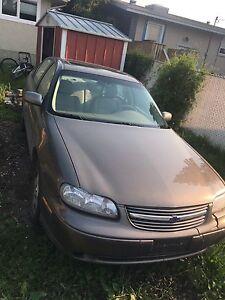 2002 Chevrolet Malibu LS for parts or transmission repair