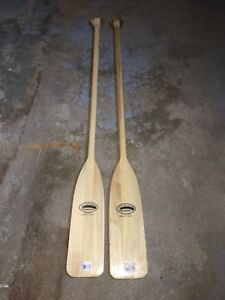 Paddles for canoe or boat
