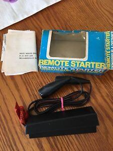 Remote starter for vintage cars