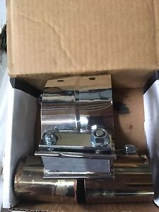 Stainless exhaust clamps