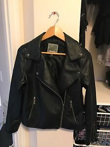 Bench.  - Faux Leather Moto Jacket (Size: XS)