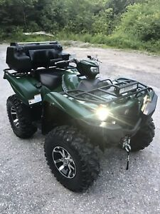 2017 Yamaha 700 Grizzly. 300kms. Power Steering.