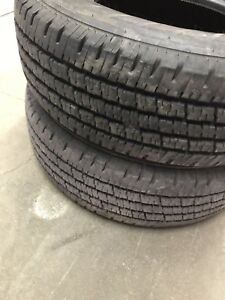 2 Almost new LT 245/75R/16