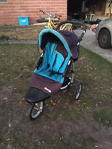 Steelcraft Pram with bassinet and toddler seat Howrah Clarence Area Preview