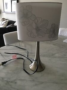 BOUCLAIR WHITE TABLE LAMP - BRAND NEW!