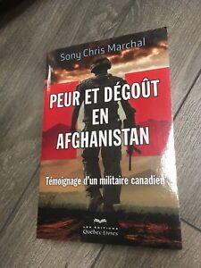 Livre peut et dégoût en Afghanistan