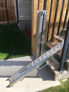Two wheel chair ramps light weight