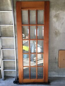 Wood & glass door