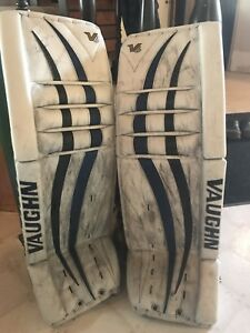 Vaughn V6 2000 Pro Goal Pads + Glove & Blocker