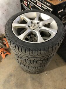 Michelin X ice winter tires and wheels