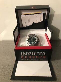 Invicta Reserve - Excursion luxury watch 54mm black mother of pearl.