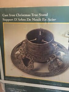 Cast Iron Christmas Tree Stand NIB