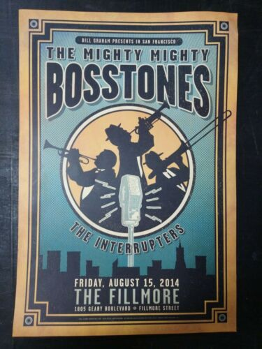 Mighty Mighty Bosstones concert tour poster