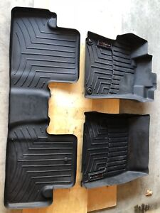 Weather tech mats front and rear, 2014 Honda Civic coupe