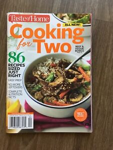 Cooking book for two