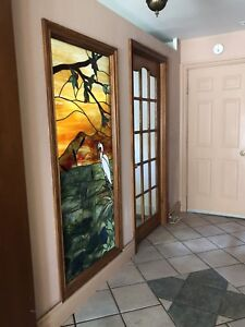 Beautiful Stained Glass with Lead Finishings