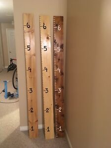 Growth charts / ruler