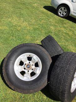 Triton wheels on 32s