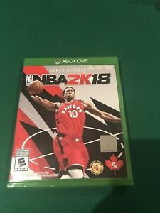 Xbox one nba 2k18 used