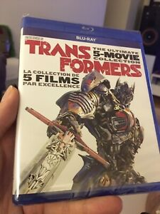 (SEALED)  Transformers: The Ultimate 5-Movie Blu-Ray Collection