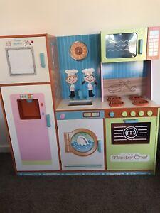 Kids Masterchef Wooden Kitchen