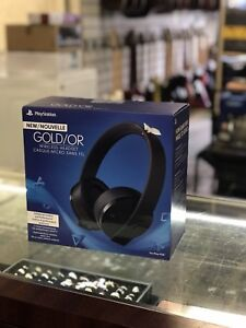 PS4 Headset Gold Edition