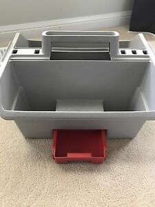 Rubbermaid fishing tackle box - great for downrigging