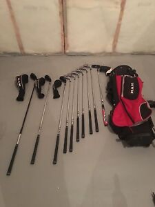 Ram golf clubs with TaylorMade putter