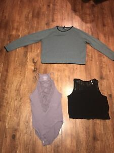 Women's size small clothing