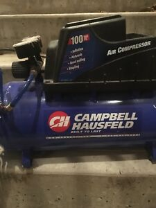 Compresseur format hot dog 3 gal Campbell Hausfeld 100psi