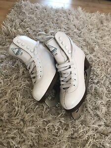 Girl's figure skates