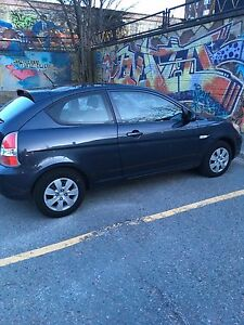 2008 Hyundai Accent 5spd Low Kms NEW MVI