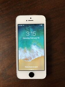 Unlocked iPhone 5S -  16GB