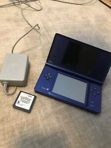 Nintendo DSI with Pokémon white and charger
