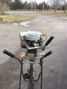 1928 Johnson outboard motor