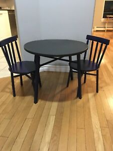 Solid Wood Children's Table Set