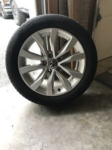 17 inch Volkswagon rims and tires